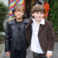Rafaella Justus posa com o aniversariante, Pietro, filho de Otávio Mesquita, nesta segunda-feira, dia 08 de agosto de 2016