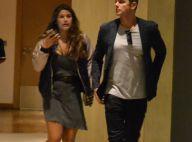 Otaviano Costa leva a enteada, Giulia Costa, ao cinema no Rio. Fotos!