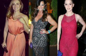 Angélica, Luiza Brunet e mais famosas vão a jantar beneficente. Veja looks!