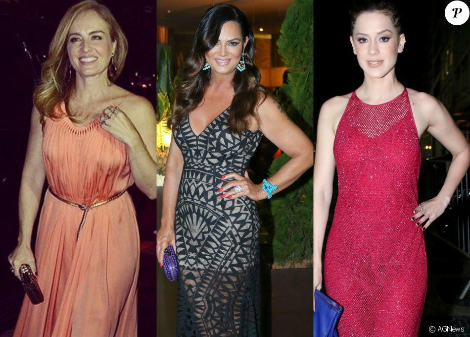 Angélica, Luiza Brunet e Sophia Abrahão foram algumas das famosas que mostraram estilo em jantar beneficente da ONG BrazilFoundation, que aconteceu nesta segunda-feira, 08 de agosto de 2016, no Hotel Fasano, no Rio de Janeiro