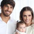 Deborah Secco e Hugo Moura são pais de Maria Flor: 'Quero que minha filha seja cada dia mais feliz e mais amada'