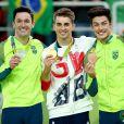Olimpíada Rio 2016: Diego Hypolito leva prata e Arthur Nory conseguiu o bronze