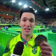 Olimpíada Rio 2016: Diego Hypolito leva prata e irmã Daniele elogia. 'Batalhou'