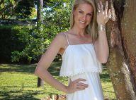 Ana Hickmann posa para campanha de joias nos jardins de sua casa em Itu