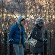 Anne Hathaway e o marido enfrentaram um frio de 2 graus