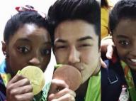 Simone Biles comemora medalha de Arthur Nory após namoro negado: 'Orgulho'