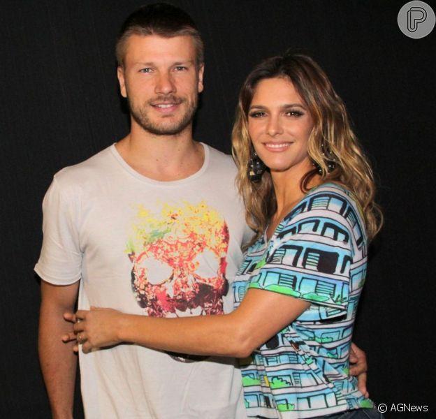 Fernanda Lima e Rodrigo Hilbert foram escolhidos para apresentar o sorteio da Copa do Mundo 2014, como informou a assessoria de imprensa do evento