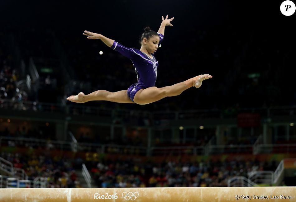 'Estou muito feliz. É minha primeira Olimpíada. Estou muito feliz por estar aqui. Fui muito bem, dei meu melhor, e isso foi o mais importante para mim', contou a atleta brasileira