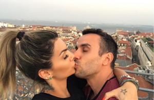 Grávida, Kelly Key come pastel de Belém em Lisboa: 'Artur agradece cada mordida'
