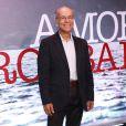 Osmar Prado na coletiva de lançamento da minissérie 'Amores Roubados', no Casarão Ameno Resedá, no Catete, Zona Sul do Rio de Janeiro, na noite desta quinta-feira, 28 de novembro de 2013