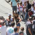 No programa 'Pânico na Band', Sabrina Sato já fez matérias em comunidades do Rio de Janeiro, como o Borel e o Complexo do Alemão, vestindo-se de funkeira e fazendo a alegria da galera