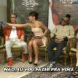 Mesmo sem falar inglês, Sabrina Sato já entrevistou celebridades internacionais no 'Pânico na TV', da Rede TV!, como o grupo Black Eyed Peas