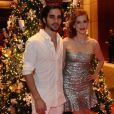O casal de atores Sophia Abrahão e Fiuk, que estavam separados desde agosto desse ano, assumiram que reataram o namoro no Natal do Bem, no Hotel Grand Hyatt, em São Paulo, nesta segunda-feira, 16 de dezembro de 2013