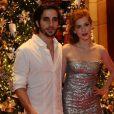 Os atores Sophia Abrahão e Fiuk reataram o namoro e anunciaram a volta no Natal do Bem, no Hotel Grand Hyatt, em São Paulo, nesta segunda-feira, 16 de dezembro de 2013