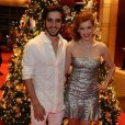 Sophia Abrahão e Fiuk voltaram a namorar e deram a notícia no Natal do Bem, no Hotel Grand Hyatt, em São Paulo, nesta segunda-feira, 16 de dezembro de 2013