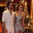 Após três meses separados, Sophia Abrahão e Fiuk voltaram a namorar e deram a notícia no Natal do Bem, no Hotel Grand Hyatt, em São Paulo, nesta segunda-feira, 16 de dezembro de 2013