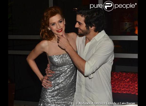 Sophia Abrahão e Fiuk anunciaram que reataram o relacionamento no Natal do Bem, no Hotel Grand Hyatt, em São Paulo, nesta segunda-feira, 16 de dezembro de 2013