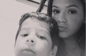 Bruna Marquezine mata saudades de Luiz Felipe Mello, o Junior de 'Salve Jorge'