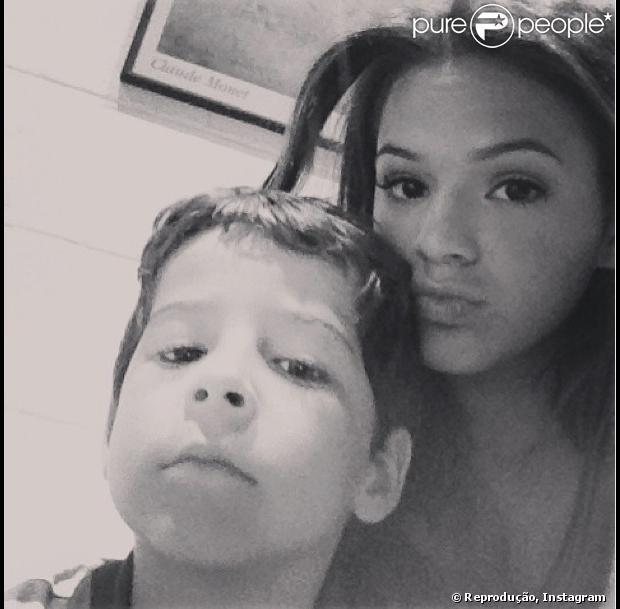 Bruna Marquezine mata saudades de Luiz Felipe Mello, o ... Felipe Salve