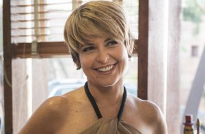 Cláudia Abreu explica cabelo curto de Helô em novela: 'Passou por sofrimentos'