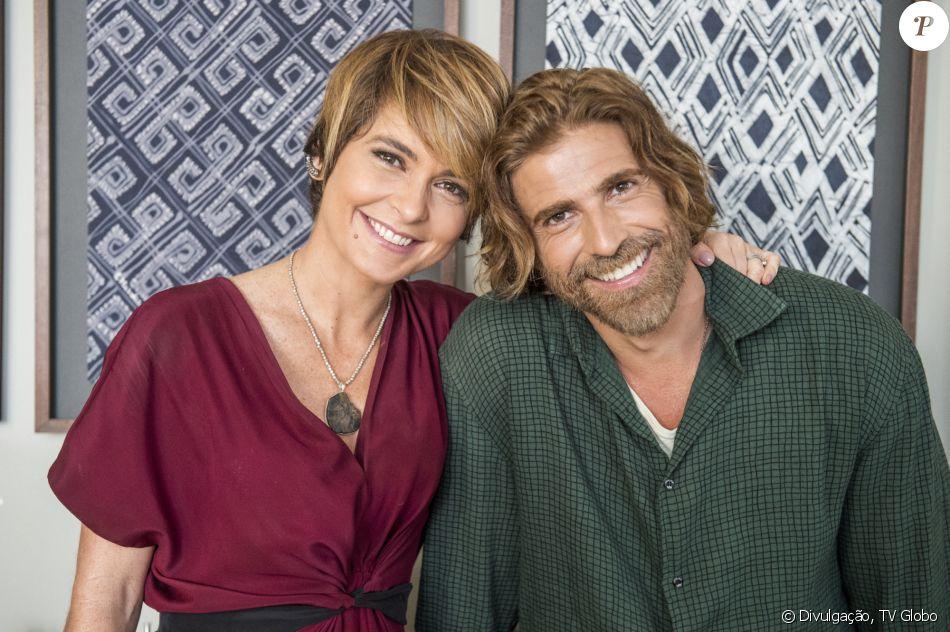 Cláudia Abreu vive papel romântico com Reynaldo Gianecchini em 'A Lei do Amor'