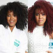 Lellêzinha muda o visual e adota cabelo ruivo: 'Uma cor de atitude'. Fotos!
