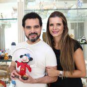 Luciano Camargo revela onde quer renovar casamento com Flavia Fonseca: 'Disney'