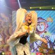 Xuxa cantou vários hits da carreira e reviveu a época de apresentadora infantil