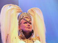 Xuxa chora e usa blusa com transparência em show inspirado nos anos 80. Fotos!