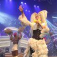 Xuxa se emocionou durante a festa 'Xuchá', no Vivo Rio, na noite deste sábado, 22 de outubro de 2016