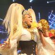 Xuxa relembrou seus sucessos durante o show 'Xuchá'