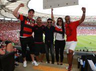 Wesley Safadão e Zezé Di Camargo vão a jogo do Flamengo no Maracanã, no Rio