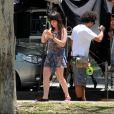 Larissa Manoela apareceu bastidores do filme ' Fala Sério, Mãe' nesta segunda-feira, 24 de outubro de 2016