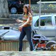 Ingrid Guimarães passeou pelos bastidores de filme 'Fala Sério, Mãe' nesta segunda-feira, 24 de outubro de 2016