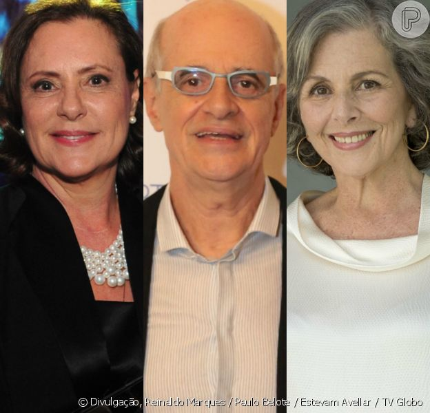 Marcos Caruso, Elizabet Savala e Irene Ravache vão viver um triângulo amoro na novela 'Pega Ladrão', sucessora de 'Rock Story', da TV Globo