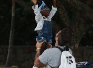 Títi, filha de Bruno Gagliasso e Giovanna Ewbank, faz biquinho em foto: 'Amor'