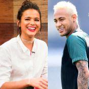 Bruna Marquezine e Neymar aparecem sem cordões iguais e fãs perguntam: 'Cadê?'