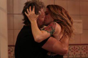 Primeiro beijo de Lenita e Vittorio em 'Sol Nascente' movimenta web: 'Química'