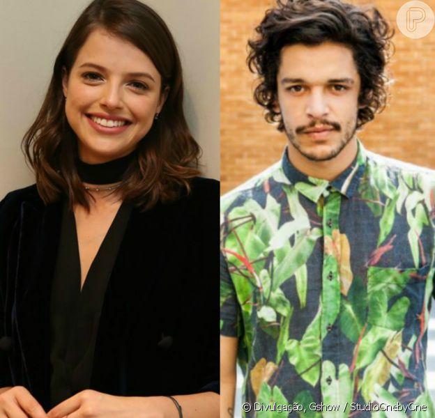 Agatha Moreira posta primeira foto ao lado de Pedro Lamin após rumores de namoro nesta terça-feira, 25 de outubro de 2016