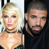 Taylor Swift e Drake, ex de Rihanna, trocam carinhos em festa: 'Flertando'