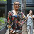 Claudia Leitte esbanja beleza com look exclusivo Resort 2017 Água de Coco no desfile da marca durante a 42ª edição do SPFW nesta quarta-feira, 26 de outubro de 2016