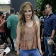 Wanessa Camargo usa look Água de Coco no desfile da marca no SPFW