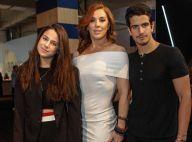 Claudia Raia vai a desfile de moda com os filhos Enzo e Sophia: 'Amores'. Fotos!