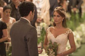 Reta final da novela 'Haja Coração': veja fotos do casamento de Beto e Tancinha
