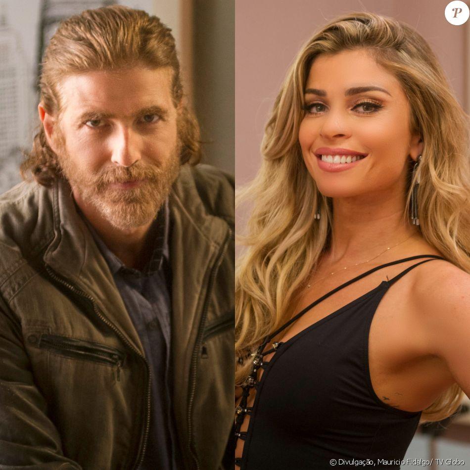 Pedro (Reynaldo Gianecchini) se aproxima de Luciane (Grazi Massafera) e os dois se unem para investigar o atentado contra Fausto (Tarcisio Meira), na novela 'A Lei do Amor', a partir de 15 de novembro de 2016