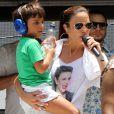 Ivete Sangalo optou por deixar o comando do 'Superbonita' para poder dicar mais tempo ao filho, Marcelo, de 7 anos, fruto de seu casamento com o nutricionista Daniel Cady