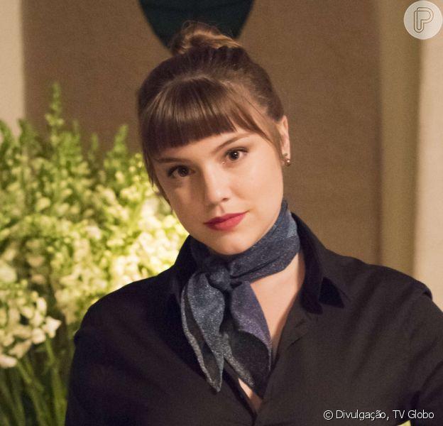 A franjinha de Alice Wegmann, em 'A Lei do Amor', é o look mais pedido da TV Globo