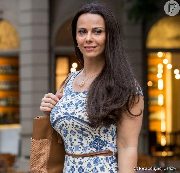 Viviane Araujo definiu sua personagem na novela 'Rock Story': 'Ela é muito fofoqueira, mas não faz por mal'