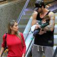 Ex-BBB Adriana Sant'Annateve a ideia após dificuldades em amamentar o filho, Rodrigo, de sete meses,fruto do relacionamento com o ex-BBB Rodrigão
