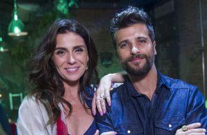 Novela 'Sol Nascente': Alice e Mario fingem que terminaram o namoro
